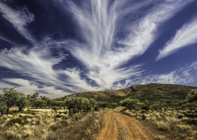 A road to the sky - Flinders Ranges, South Australia