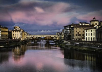 Pontevecchio at dawn