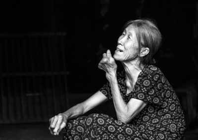 An older woman in Guilin