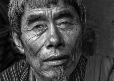 A Village Elder (Bhutan)