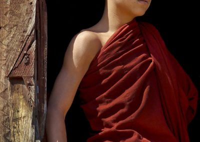 A Young Monk (Myanmar)
