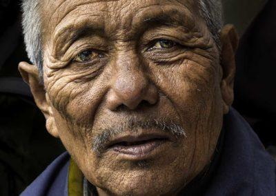 A wise man of Bhutan (Bhutan)