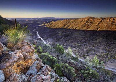 East from Acacia Ridge - Flinders Ranges, South Australia