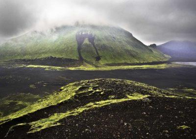 Iceland Moraine
