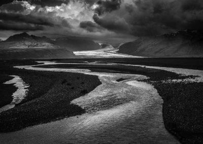 Vatnajokull Meltwater - Iceland