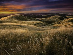 Dawn at Germantown Hill (Bridgewater, South Australia)
