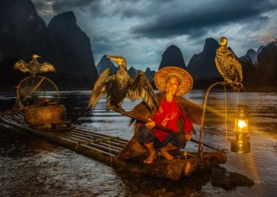 The Fisherman with his cormorants