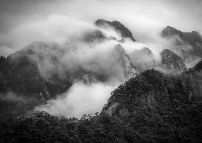 Mists return in Huanshan