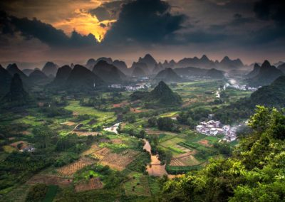 Late afternoon in Guilin