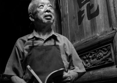 A minority man at home in Daxu