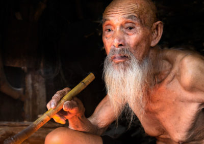 Fisherman and his pipe